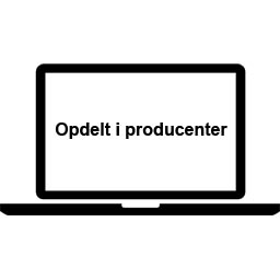 Opdelt i producenter