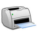 Laser printer - Sort/hvid