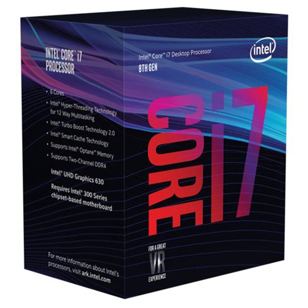 Intel Core i7 8700 / 3.2 GHz Processor
