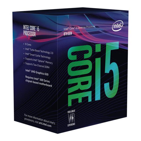 Intel Core i5 8400 / 2.8 GHz Processor