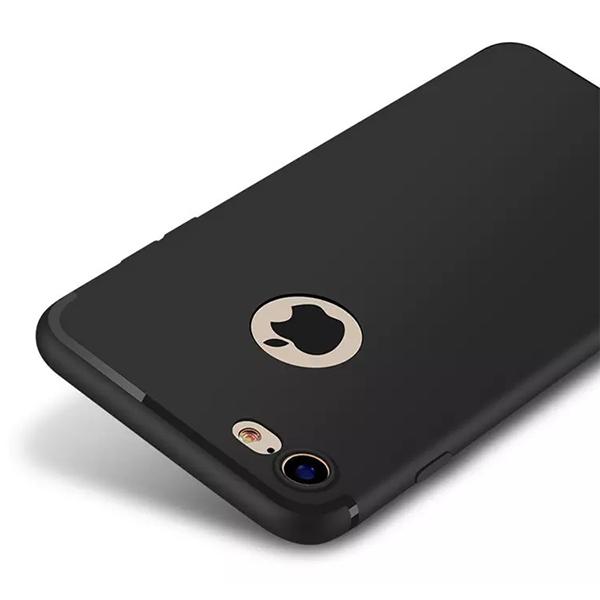 iPhone 7/8 Matte Soft Cover Black