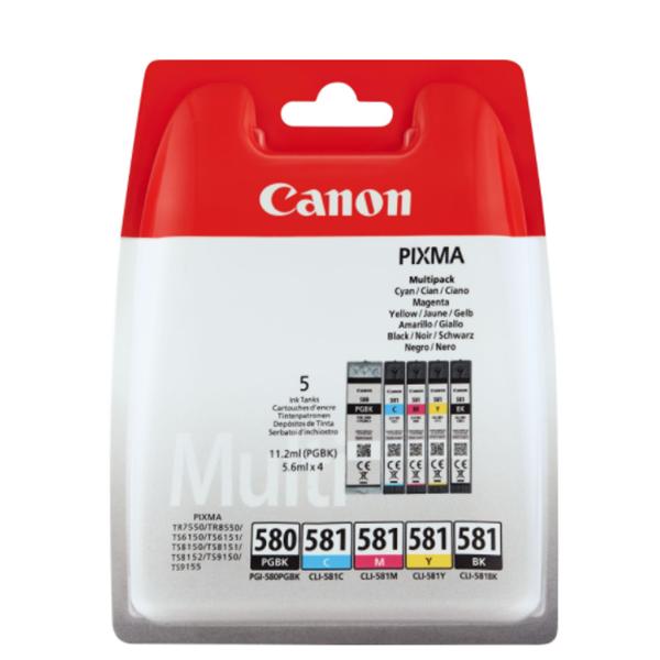 Canon PGI-580 PGBK/CLI-581 CMYBK Multipack