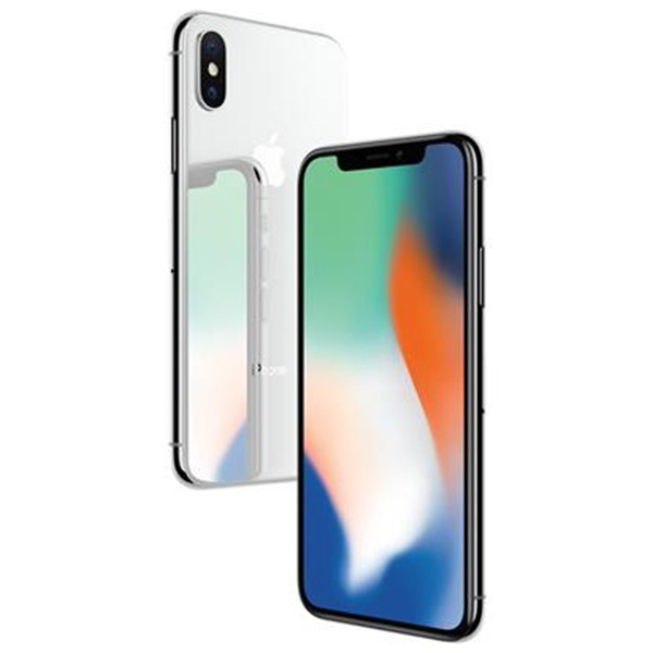 Apple iPhone X - 64GB - Silver - Grade A