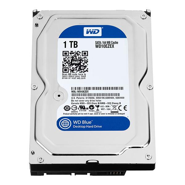 WD Blue Harddisk WD10EZEX - 1TB - 7200rpm