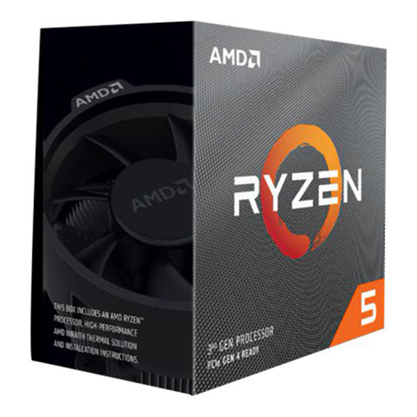 AMD Ryzen 5 2600 / 3.4 GHz Processor